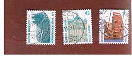 GERMANIA (GERMANY) - SG 2200.2210a - 1990 TOURIST SIGHTS       - USED - Usati