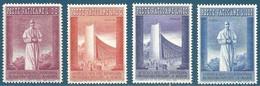 Vatican N°257 à 260 Exposition Universelle De Bruxelles Neuf** - Vatican