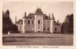 Saint Pierre Des Landes - Château De Fontenailles - Francia