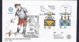 1989 SPAIN ESPANA ESPAGNE CEPT CONSEIL EUROPE 40 YEARS COUNCIL ANNIVERSAIRE EDITION LIMITEE TIRAGE 100 Ex JEUX - 1991-00 Lettres