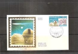 Passage De La Comète De Halley 1986 -  FDC Monaco (à Voir) - Astrologie
