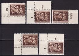 Deutsches Reich 1944 Mi 865 Lot MNH**VF - Allemagne