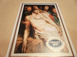 Miniature Sheet Rwanda 1977 Easter Rubens - Other