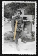 Cpa Genre Carte Photo 0620321 Alpin Arnaud A. 75e Bataillon Alpin De Forteresse Sospel - Sospel