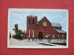 > Presbyterian Church   Bradenton > Jacksonville----  Ref 3398 - Bradenton