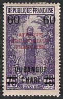 OUBANGUI-CHARI  1924-25  - YT   57 - NEUF* - Ungebraucht