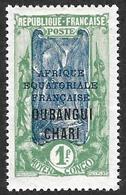 OUBANGUI-CHARI  1924-25  - YT   60 - NEUF* - Neufs
