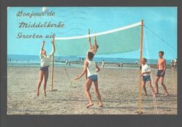 Middelkerke - Groeten Uit Middelkerke - Geanimeerd - Volley / Volleybal - Middelkerke