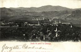 ROMANIA - OIL INDUSTRY - CAMPINA, Sonde De Petrol La Campina - 1903 - Romania
