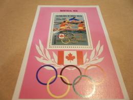 Miniature Sheet Upper Volta Montreal 1976 Olympics - Upper Volta (1958-1984)