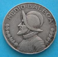 Panama  Medio Balboa  1947  Argento  Silver - Panama