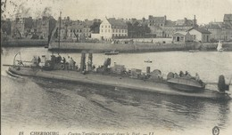 Conre  Torpilleur Dans Le Pot De Cherbourg - Cherbourg