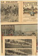 Le Pélerin N°1157 Funérailles Félix Faure Mr Loubet  Le Théâtre Breton Ar Mab Prodic L'enfant Prodigue Arrêt Déroulède - Magazines - Before 1900