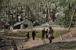 ROMANIA - OIL INDUSTRY - BUSTENARI, Vedere Generala - 1910 - Romania