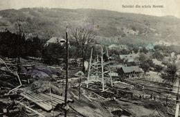 ROMANIA - OIL INDUSTRY - MORENI, Salutari Din Schela Moreni - 1912 - Romania