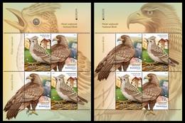 ROMANIA RUMANIA ROUMANIE RUMÄNIEN 2019 EUROPA BIRDS 2 Different Souvenir Sheets S/S ** - 2019