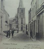 Fontaine L'Evèque L'Eglise Saint-Christophe - Fontaine-l'Evêque