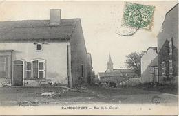 RAMBUCOURT Rue De La Chavée - France