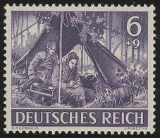 834x Tag Der Wehrmacht / Heldengedenktag Nachrichten 6 Pf ** - Germania