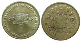 00930 GETTONE TOKEN JETON VENDING PETER PIPER PIZZA ROCKY - España