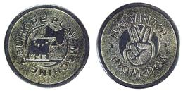 00889 GETTONE TOKEN JETON ARCADE GAME MACHINE EUROPE PLAY MACHINE HAI VINTO! - Italy