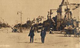 ROMANIA - BUCURESTI, Bulevardul Coltea, Real Photo Postcard - 1911 - Romania