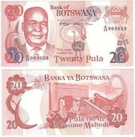 Botswana - 20 Pula 1999 UNC Pick 21 Lemberg-Zp - Botswana