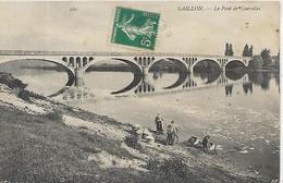 27, Eure, GAILLON, Le Pont De Courcelles, Scan Recto-Verso - Other Municipalities