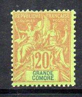 APR1311 - GRANDE COMORE 1897 , Yvert N. 7  *  Linguellato (2380A) - Nuovi