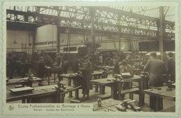 Hornu Ecoles Professionnelles Du Borinage Ateliers Section Des Electriciens - Boussu