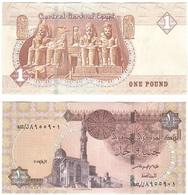 Egypt - 1 Pound 02.08. 2017 UNC Lemberg-Zp - Egypte