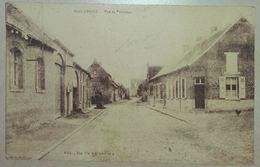 Huissignies Rue Du Pévenage (Etat Moyen) - Chièvres