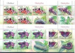 2016. Belarus, Butterflies Of Belarus,  4 Sheetlets, Mint/** - Bielorussia