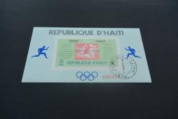 M6368 - Bloc Imperf.  MNH Haiti 1968 -Olympics Mexico - Zomer 1968: Mexico-City