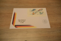 GR565A  - FDC Germany 2002 - Olympics Lake Placid - Non-normalised Shipment - Winter 2002: Salt Lake City