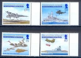 D27-  Ascension Island 2007. Falklands War 25th Anniversary. - Airships