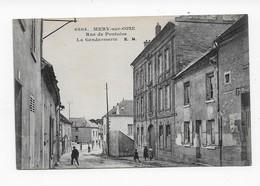 95   MERY Sur  OISE  RUE DE PONTOISE  GENDARMERIE   TRES BON ETAT    2 SCANS - Mery Sur Oise