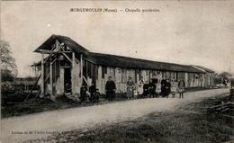 Morgemoulin Canton Etain Chapelle Provisoire Chapel Meuse 55400 Dos Vert En TB.Etat - France