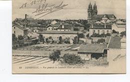 CPA - LUNEVILLE - Vue Générale De Lunéville , Coté Sud Ouest  - Circulée   - - Luneville