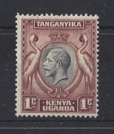 K.U.T.......KING GEORGE.V.(1910-36).....1c....SG110......MH.... - Kenya, Uganda & Tanganyika