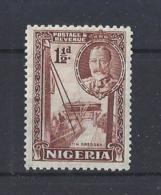 NIGERIA.......KING GEORGE.V.(1910-36)......1 AND HALFd.....SG36.....MH.... - Nigeria (...-1960)