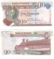 Ireland Northern - 10 Pounds 2017 AUNC Bank Of Ireland Paper Lemberg-Zp - [ 2] Ireland-Northern