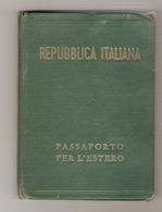 Passeport Italien (1948) - Old Paper
