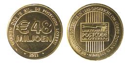 00525 GETTONE TOKEN JETON THE NETHERLANDS LOTTERY Nationale Postcode Loterij - Unclassified