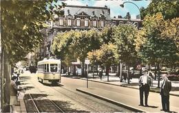 CPSM St Etienne, Place Jean Jaurès Tram Tramway PCC - Saint Etienne