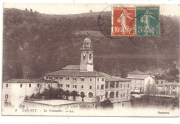 2. LAGHET ( La Trinite ) LE MONASTERE ..  CARTE AFFR SUR RECTO - Frankreich
