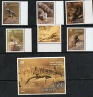 JORDAN,2006,REPTILES,LIZARDS, SNAKES,6v+S/SHEET, MNH, NICE - Serpents