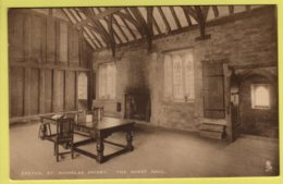 Devon - Exeter, St. Nicholas Priory - Lot Of 5 Tuck Postcards - Exeter