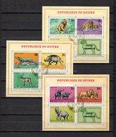 Guinea   1968  .-  Y&T  Nº   21/23   Block - República De Guinea (1958-...)