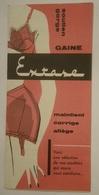 Catalogue Soutien-gorge Gaine Basse Gaine Montante Gaine Culotte EXTASE Vers 1960 Lingerie De Luxe - Sous-vêtement - Textile & Vestimentaire